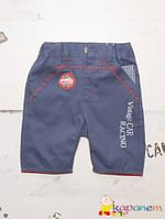 Модные шорты  мальчику тонкий джинс (репс) ТМ Бемби