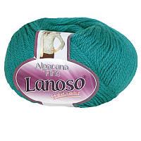 Lanoso Alpacana Fine зеленая бирюза № 980