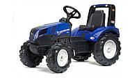 Детский трактор на педалях Falk 3090 NEW HOLLAND T8