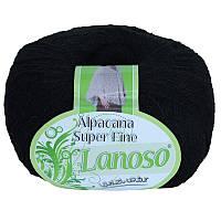 Lanoso Alpacana Super Fine черный № 960