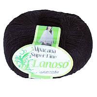 Lanoso Alpacana Super Fine темно-синий № 993