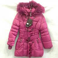 Пальто тепле для дівчинки