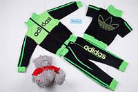 """Спортивный костюм двойка """"Adidas двухцветный"""" РАЗНЫЕ ЦВЕТА"""