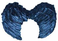 Крылья ангела черные 40 х 60  см