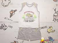 Модный летний комплект р.74, 86 для мальчика ТМ Гарден Беби