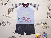 Летний костюм мальчику Р.74, 80  ТМ Garden Baby