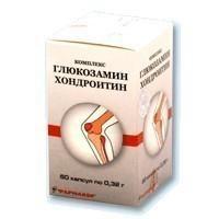 Глюкозамин-хондроитиновый комплекс 0,32г №60капс (БАД)