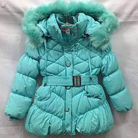 Нарядное пальто детское