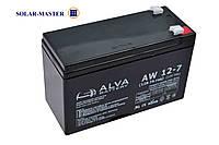 AGM аккумулятор ALVA AW 12В-7Aч