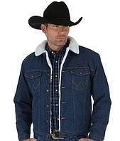 Зимняя джинсовая куртка Wrangler® Western Sherpa - Denim