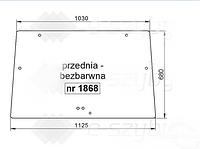 СТЕКЛО DEUTZ-FAHR AGROFARM TIER 3 410 420 430, AGROFARM 85G 100G 115G ПЕРЕДНЕЕ