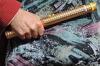 """Электрошокер дубинка профессиональный BL X8 """"Золотая молния шокер Х8"""" 158 000 Kv."""