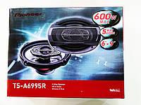 Мощная овальная автомобильная акустика Pioneer TS-A6995S. Отличное качество. Стильный дизайн. Код: КДН862