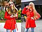 """Тёплое женское короткое пальто на силиконе 8082 """"Кашемир Енот Мех"""" в расцветках, фото 6"""