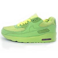 Женские кроссовки Nike Air Max 90 lime