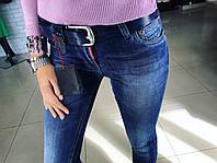 """Стильные, молодежные джинсы-скини """"Dsquared2"""" пояс в комплекте"""