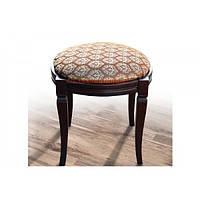 Банкетка круглая, орех, 500*500*475, Микс-Мебель
