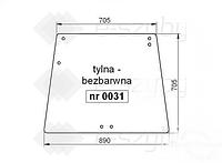 СТЕКЛО DEUTZ-FAHR AGROSTAR 4.61 4.71 6.11 6.21 6.31 4.68 4.78 6.08 6.28 6.38 TG 6.71 6.81 ЗАДНЕЕ