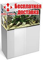 Тумба прямоугольная для аквариума Aquael GLOSSY 100, белая