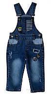 Джинсовый полукомбинезон для мальчика Overdo Kids 4518 р.86 голубой