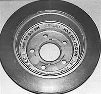 Замена задних тормозных дисков, фото 1
