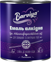 Эмаль Барвия ПФ-115 белая 0.9 кг (55689)
