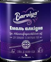 Эмаль Барвия ПФ-115 черная 0.9 кг (55694)