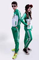"""Костюм Подростковый """"Adidas"""" зелёная трава (девочка и мальчик)"""