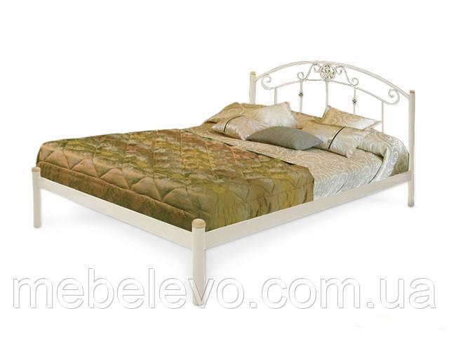 Кровать односпальная Монро на деревянных ногах 80 Металл-дизайн
