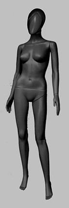 Манекен женский в полный рост Сиваян аватар 2 черный, фото 2