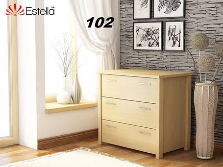 Комод Тесса Бук Щит 102 (Эстелла-ТМ), фото 2