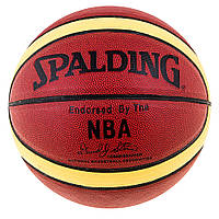 Мяч баскетбольный Spalding NBA AuthenticDavidSpein SPL-25569-12
