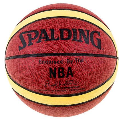 Мяч баскетбольный Spalding NBA AuthenticDavidSpein SPL-56912, фото 2
