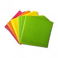 Цтная бумага для заметок  90-90 мм 300 листов
