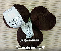 Gazzal Baby wool XL - 807 шоколадный