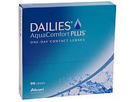 Контактні лінзи  Focus DAILIES Aqua Comfort Plus (90шт)