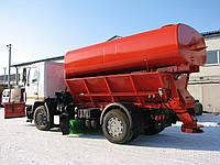 Дорожня комбінована машина (зима+літо) МДКЗ-12 на шасі МАЗ-5340