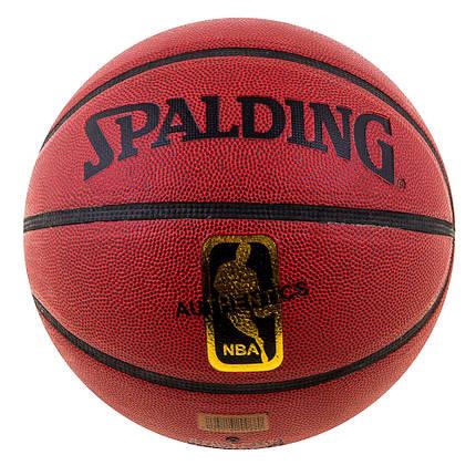 Мяч баскетбольный Speld NBA AuthenticDavidSpein SPL-25569-13, фото 2