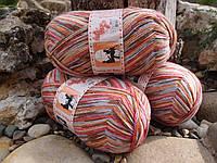 Пряжа для вязания носков ОПАЛ,серия  LOVE STORY