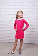Яркое платье розового цвета для маленьких леди