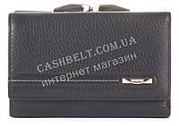Стильный небольшой прочный кожаный качественный женский кошелек  PRENSITI art. PR100-77003 A черный