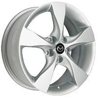 Литые диски Replica Mazda (MZ597) R17 W7 PCD5x114.3 ET50 DIA67.1 (silver)