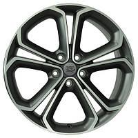 Литые диски WSP Italy Opel (W2510) Zefiro R18 W7 PCD5x105 ET38 DIA56.6 (matt gun metal polished)