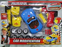 Конструктор Автомобиль гоночный с шурповёртом 661-184 ,30 деталей