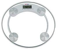 Напольные весы, цифровые, круглая форма 180 кг