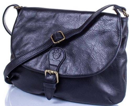 Оригинальная женская кожаная сумка ETERNO (ЭТЕРНО) ETK179-6 Синяя