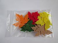 """Заготовки из фетра """"Осенние листья клёна"""""""