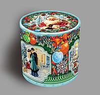 Упаковка праздничная новогодняя Тубус Большой, 1200г