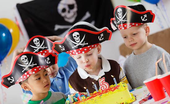 детский день рождения в пиратском стиле
