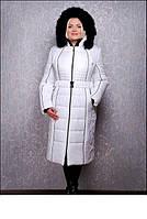 Куртка женская на зиму с песцом р-44-72
